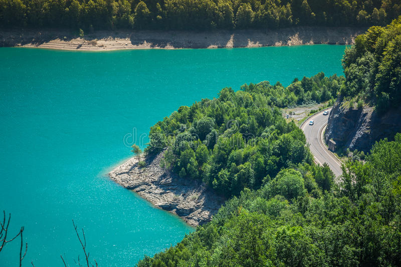 Bulbal Reservoir, also called Swamp Bubal is a reservoir located royalty free stock photography