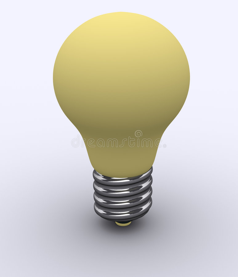 Bulbo stock de ilustración