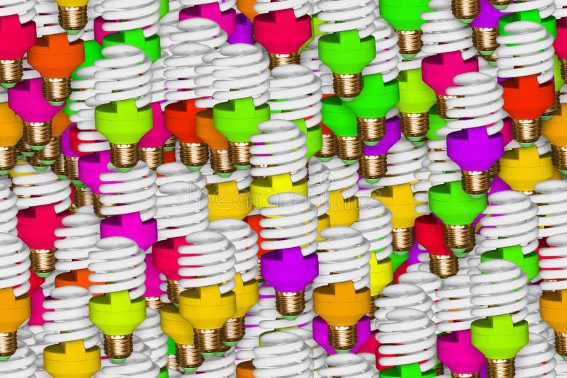 Bulbo carmesim isolado sem emenda, imagem do bulbo e da ampola no fundo contínuo imagem de stock royalty free