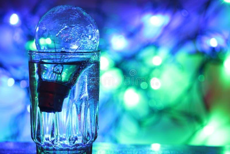 Bulbo de cristal foto de archivo libre de regalías