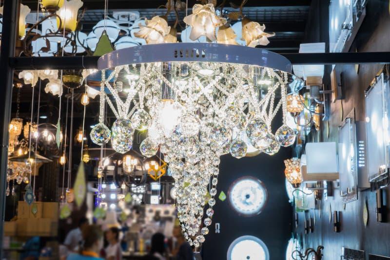 Bulbo de lámpara del vintage fotos de archivo
