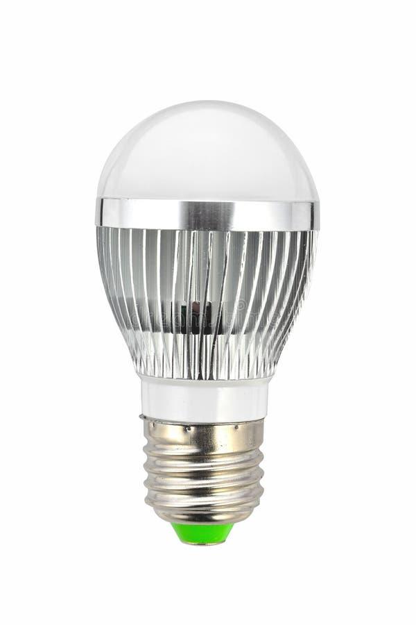 Bulbo de lámpara llevado foto de archivo