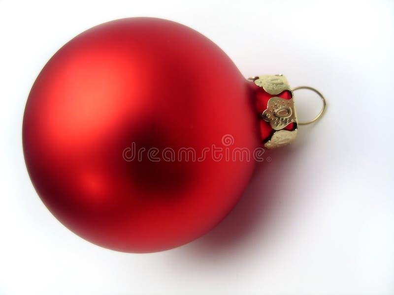 Bulbo De La Navidad Fotografía de archivo
