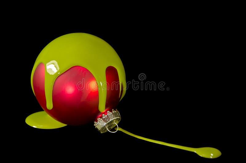 Bulbo de la Navidad fotografía de archivo libre de regalías
