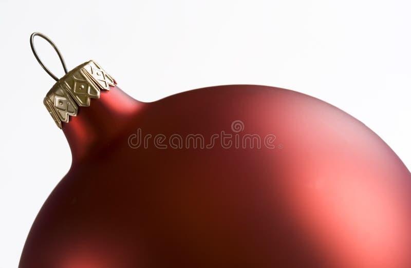 Bulbo do Natal imagem de stock