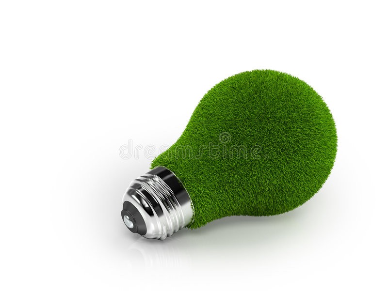 Bulbo Eco-Friendly imagens de stock