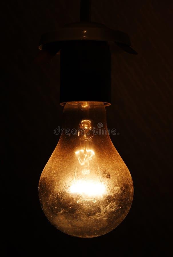 Bulbo eléctrico. fotografía de archivo libre de regalías