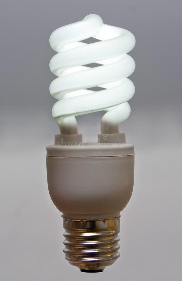 Bulbo fluorescente fotografía de archivo