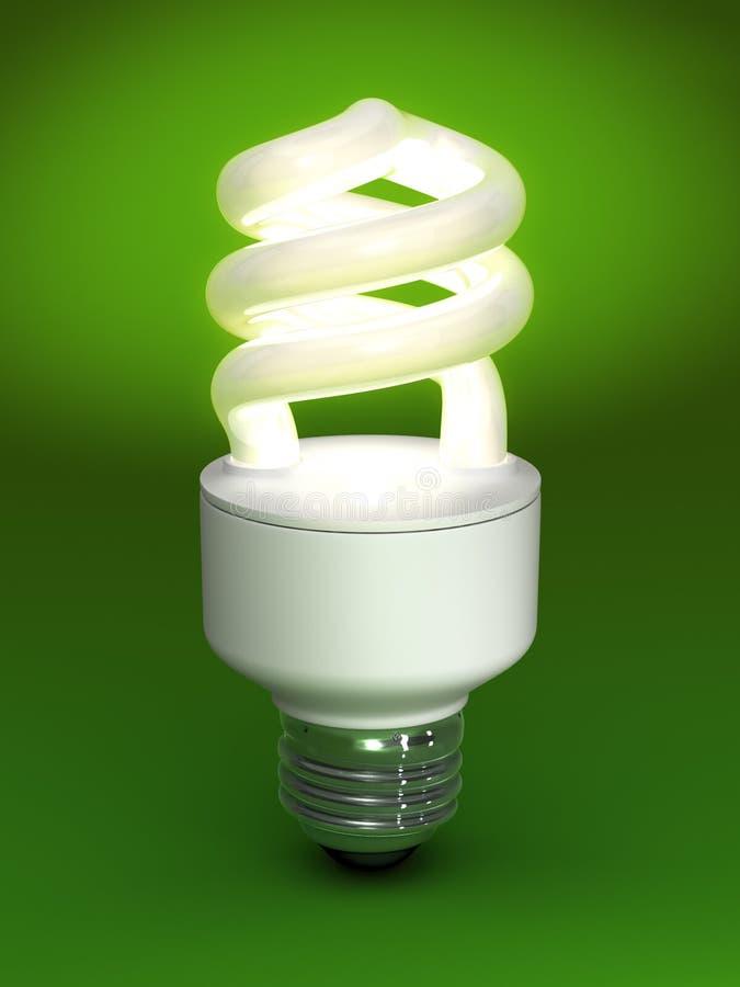 Bulbo fluorescente compacto libre illustration