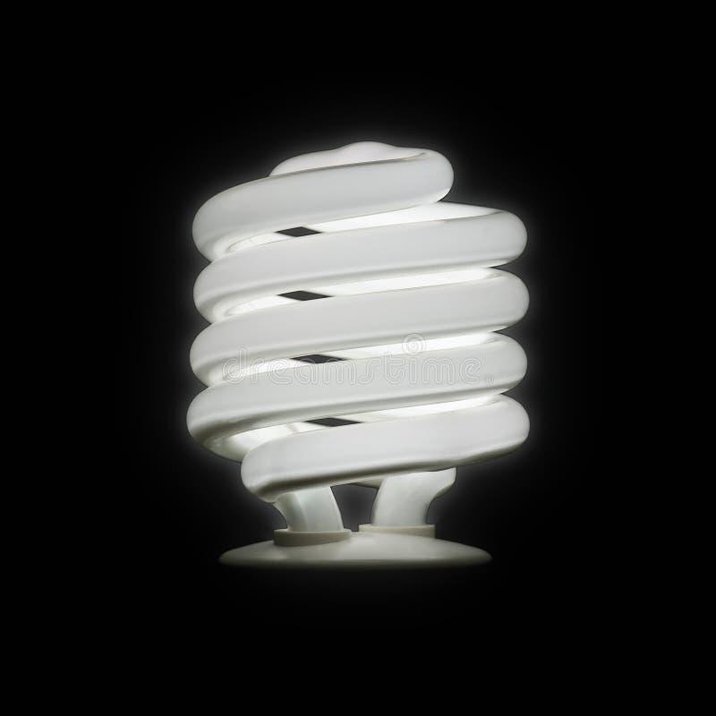 Bulbo fluorescente compacto fotografía de archivo libre de regalías