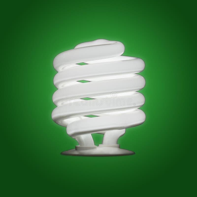 Bulbo fluorescente compacto imagen de archivo libre de regalías