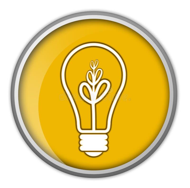 Bulbo, idea, asunto, información ilustración del vector