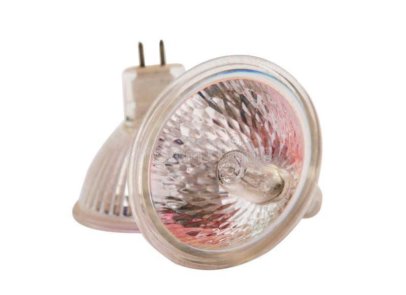 Bulbos de halogênio imagens de stock royalty free