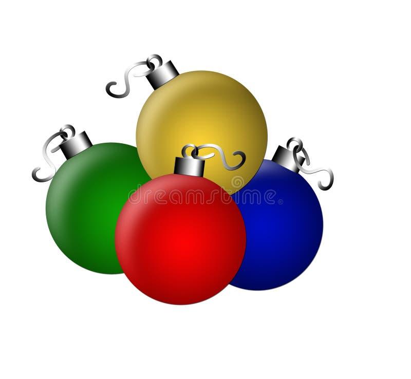 Bulbos de la Navidad libre illustration
