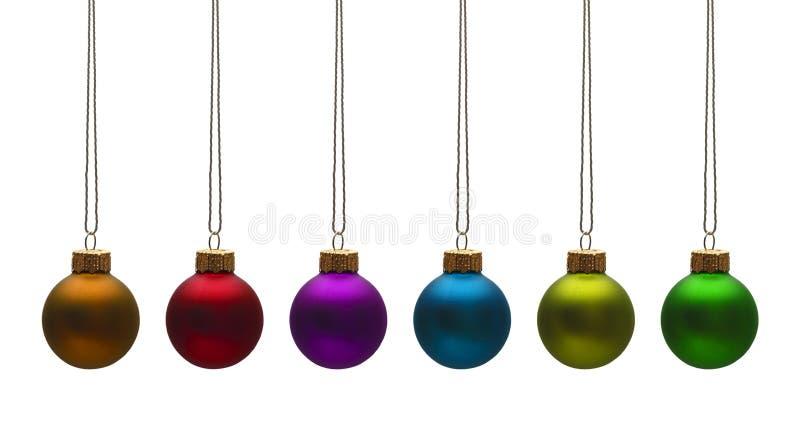 Bulbos do Natal imagem de stock royalty free