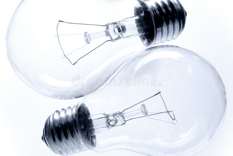 Bulbos elétricos foto de stock royalty free