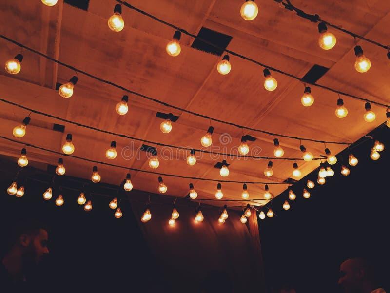 Bulbos rojos imagen de archivo