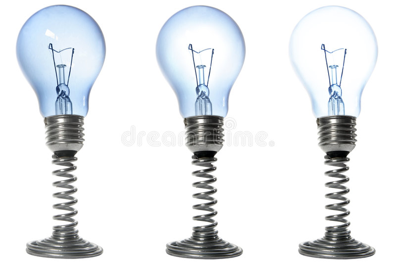 Bulbs royalty free stock photography