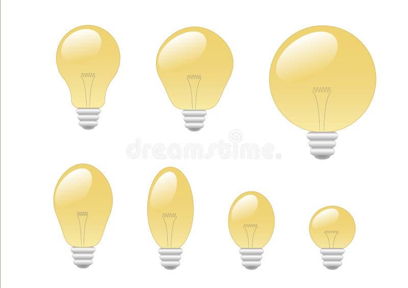 bulbs light απεικόνιση αποθεμάτων