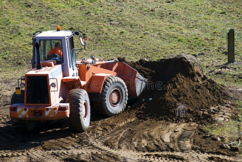 buldożer praca zdjęcie royalty free
