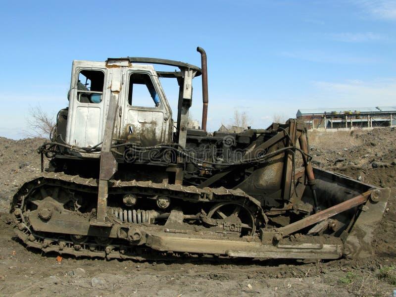 buldożer stary obraz stock