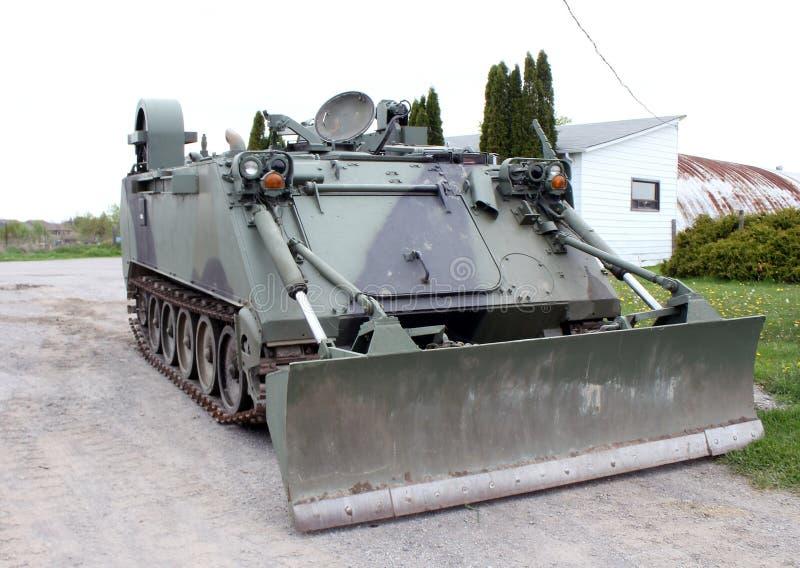 buldożeru wojskowy zdjęcie stock