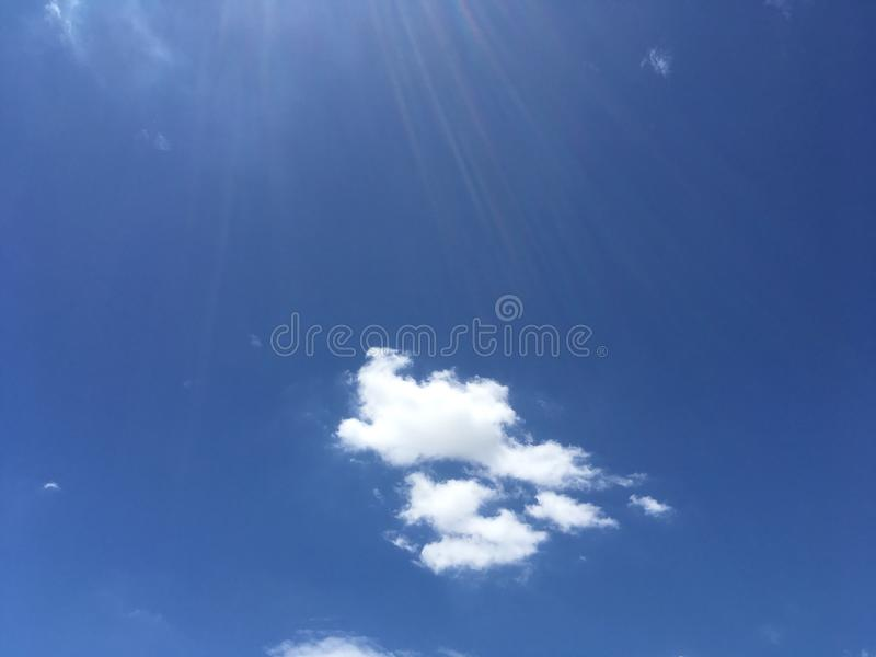 Blue sky. Bule sky and sunset natural b background royalty free stock photos