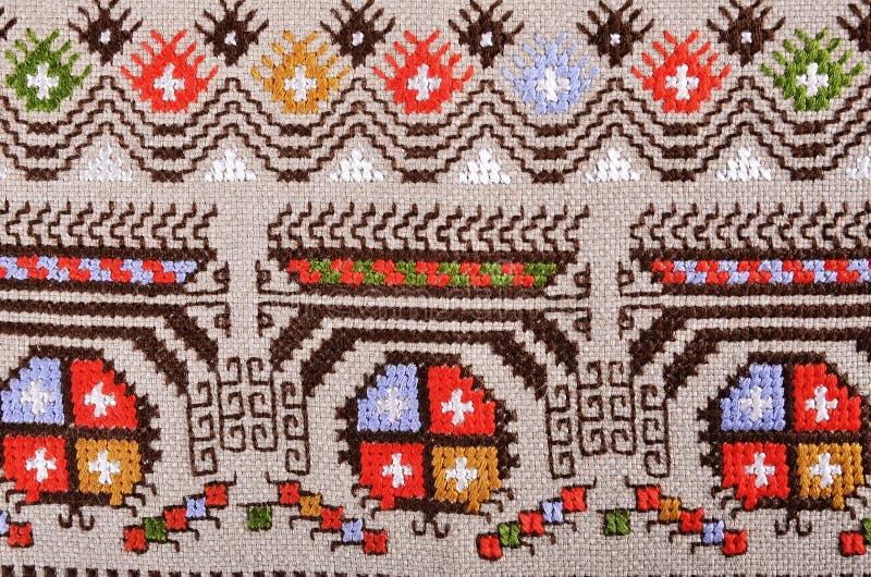 Bulgaars handborduurwerk royalty-vrije stock fotografie