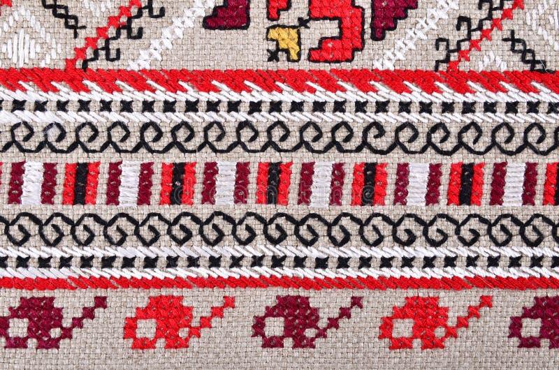 Bulgaars handborduurwerk stock foto