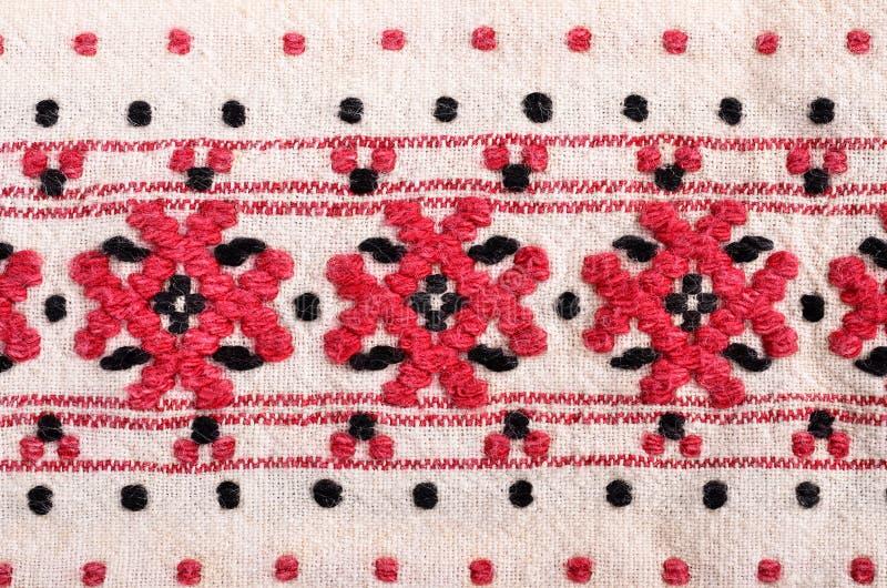 Bulgaars handborduurwerk stock foto's