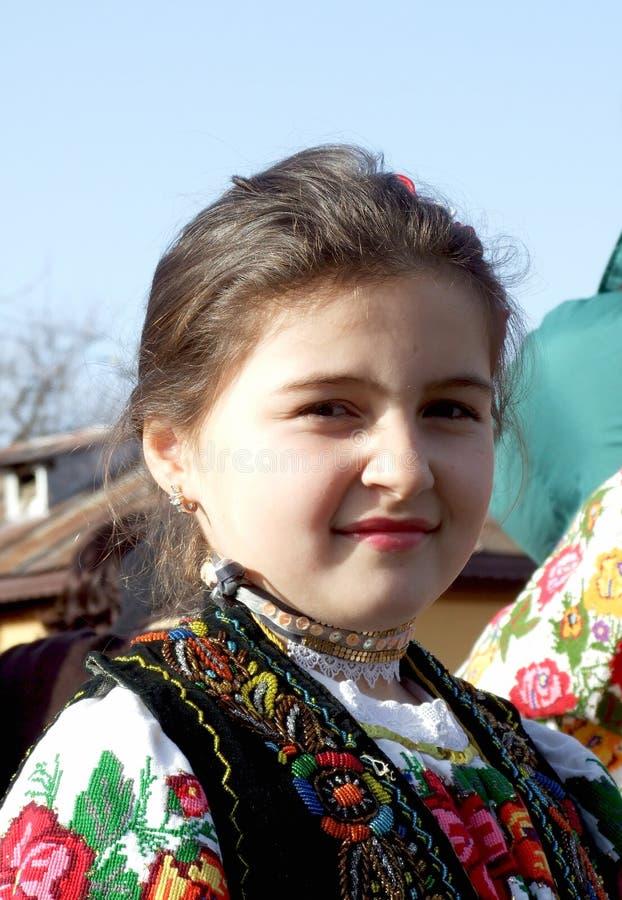 Bulgaars meisje stock foto's
