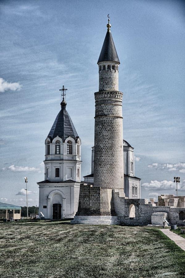 Bulgar-Minarett stockfotografie