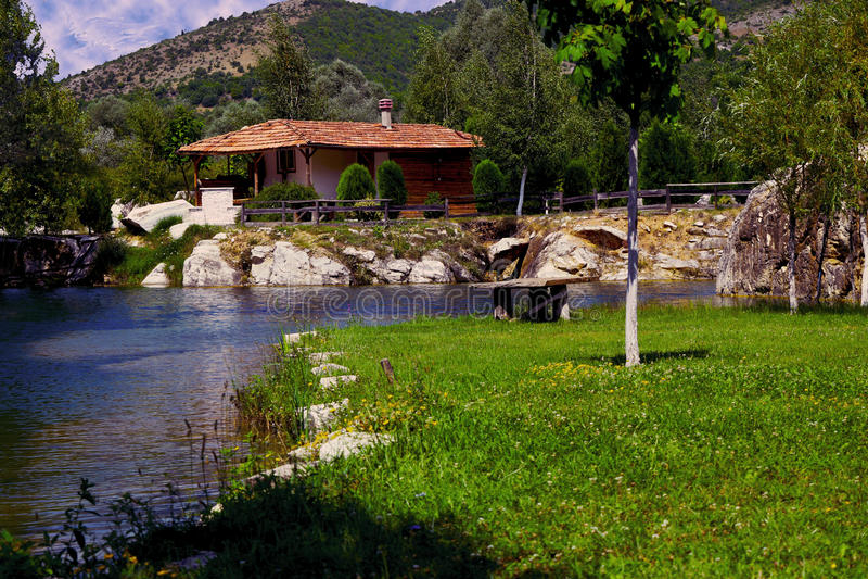 bulgari krajobrazu obraz royalty free