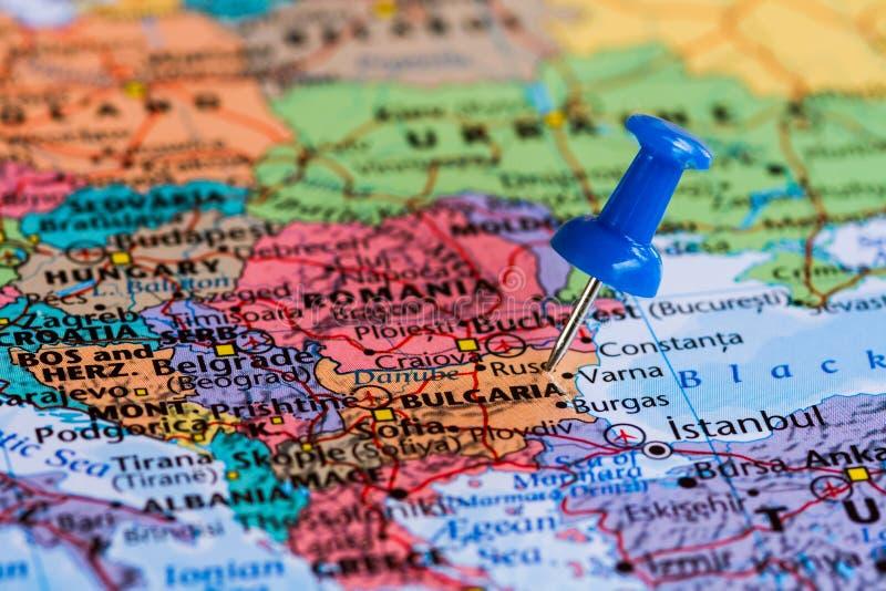 bulgaria översikt fotografering för bildbyråer