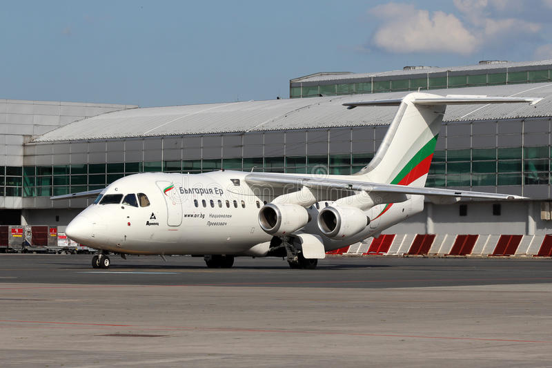 Bulgaria Air obraz royalty free