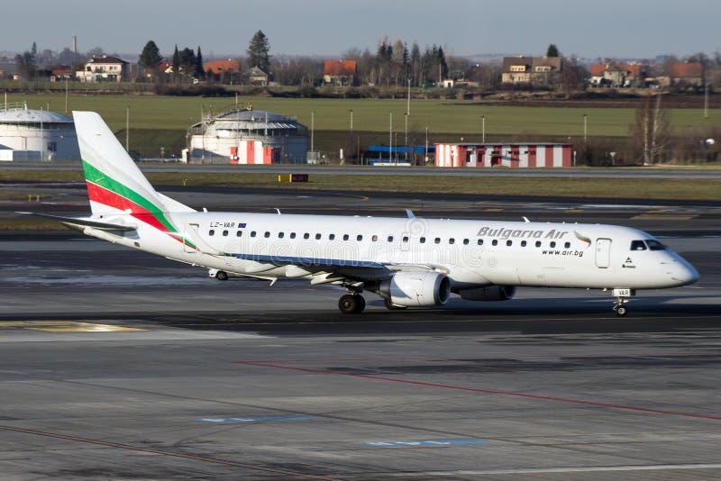 Bulgaria Air zdjęcie royalty free