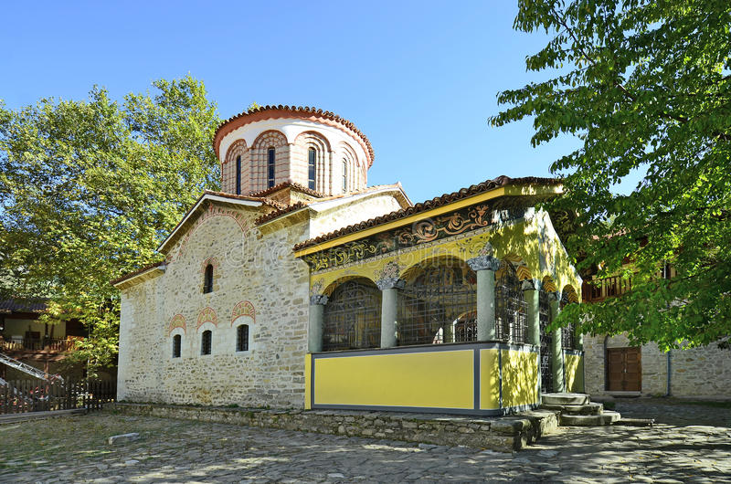 Bulgaria, Bachkovo. Monastery, landmark and pilgrimage site royalty free stock photography