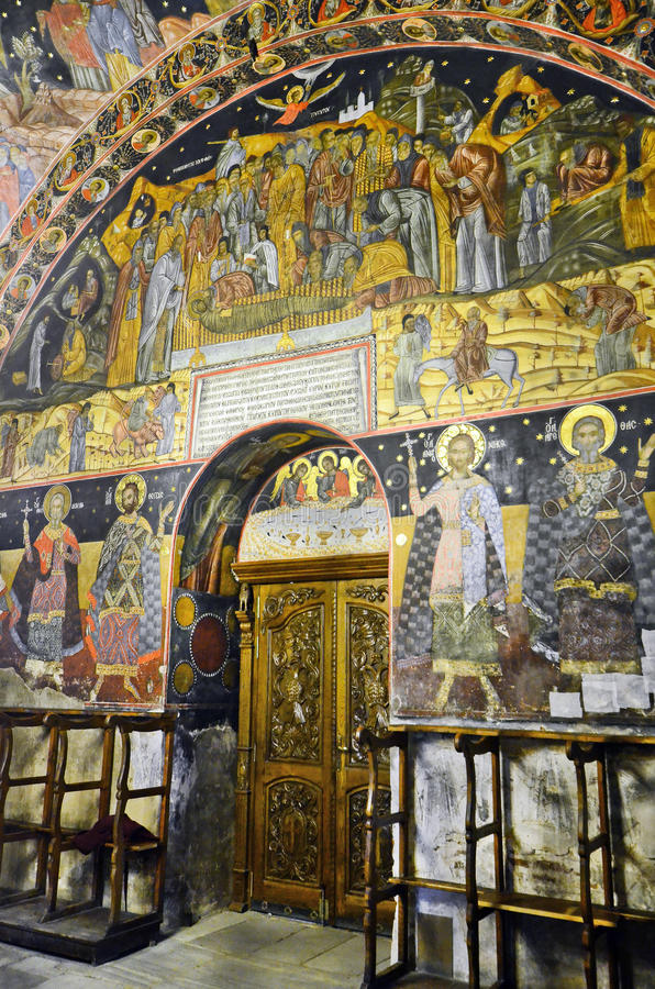 Bulgaria, Bachkovo. Monastery, landmark and pilgrimage site royalty free stock images