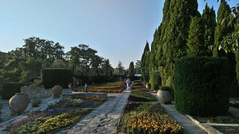 Bulgaria Balchik Botanical Garden Travel stock photo