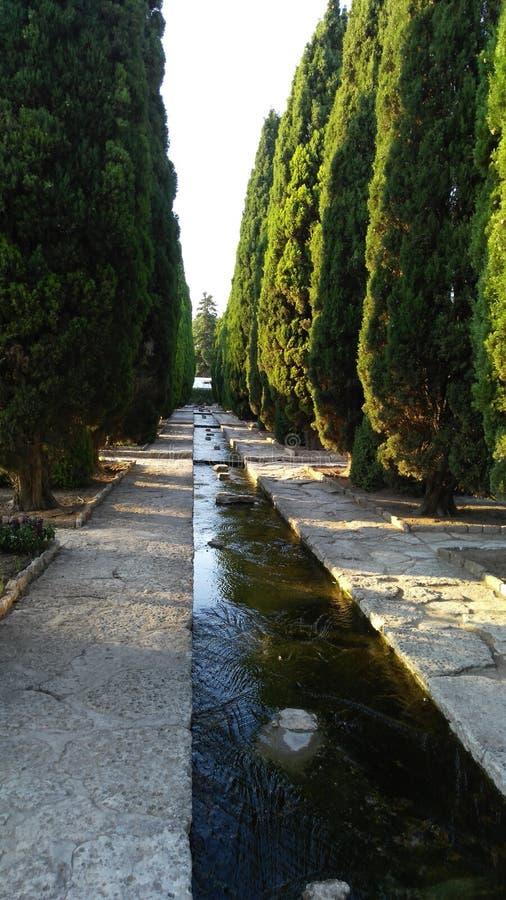 Bulgaria Balchik Botanical Garden Travel stock image