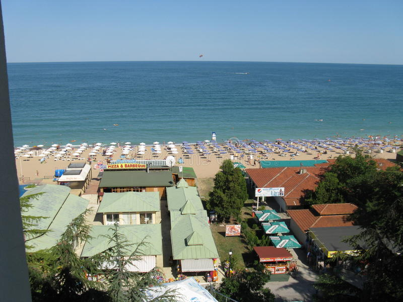 Bulgaria Golden Sands royalty free stock images
