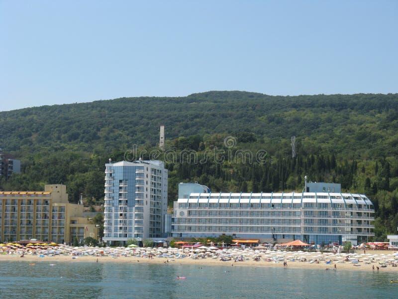 Bulgaria Golden Sands Varna area stock photo