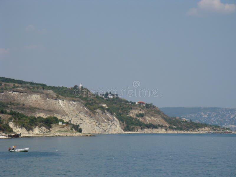 Bulgaria Golden Sands Varna area stock images