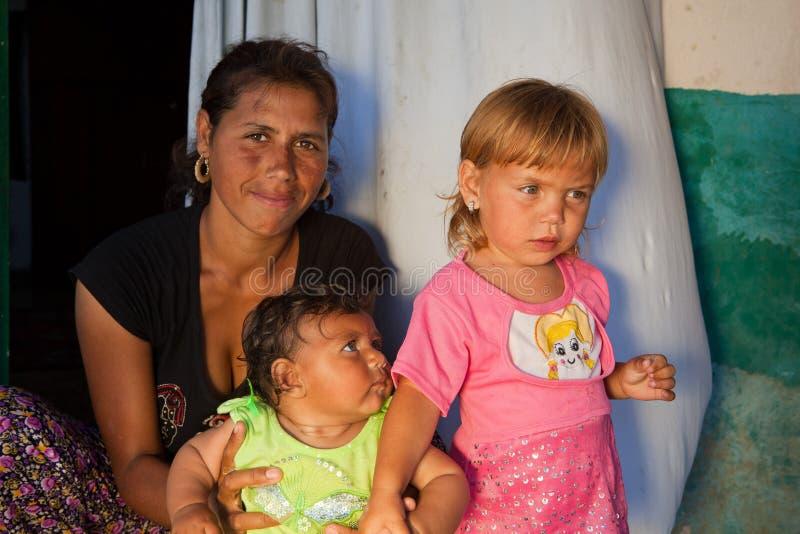 bulgaria gypsy matka Roma zdjęcie stock