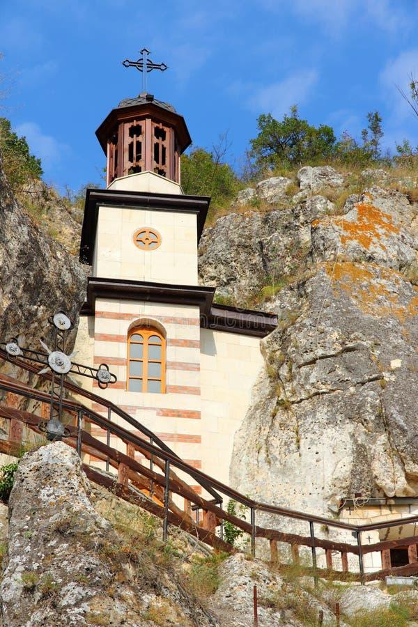 Bulgaria - Ivanovo. Bulgaria - rock-hewn churches of Ivanovo. Famous UNESCO World Heritage Site stock images