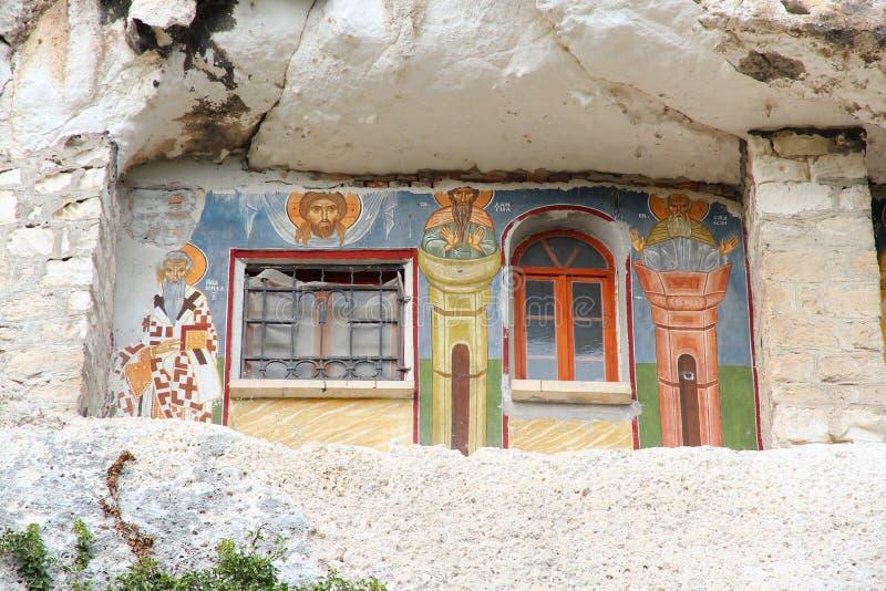 Bulgaria - Ivanovo. Bulgaria - rock-hewn churches of Ivanovo. Famous UNESCO World Heritage Site royalty free stock photography