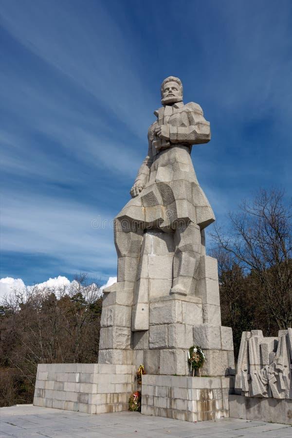BULGARIA, KALOFER, 15 03 2018: Complejo conmemorativo foto de archivo libre de regalías