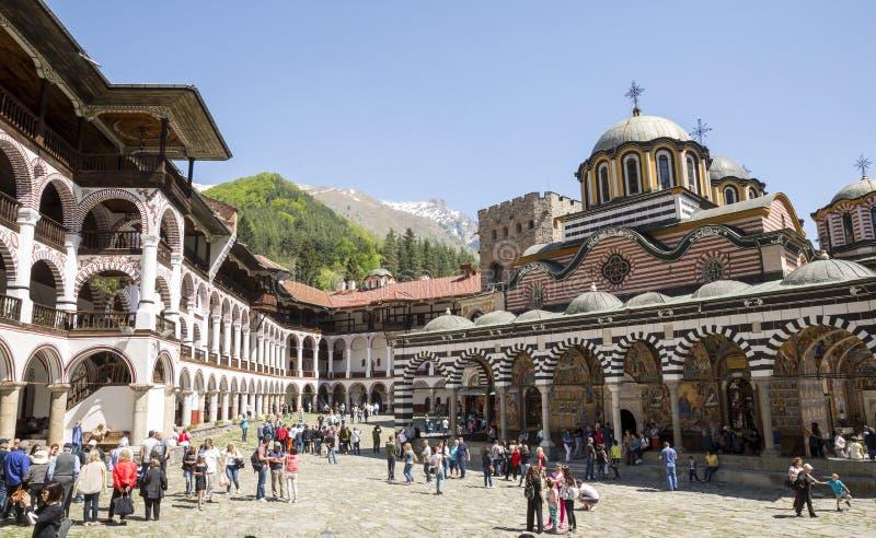 bulgaria monasteru rila obrazy royalty free