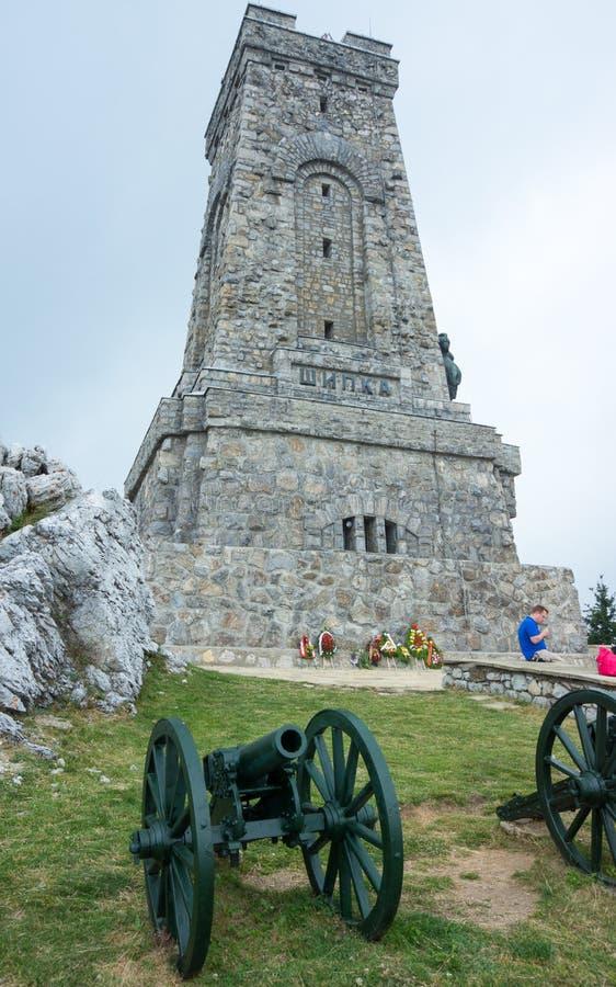 Bulgaria. Monument. Cannon stock photos