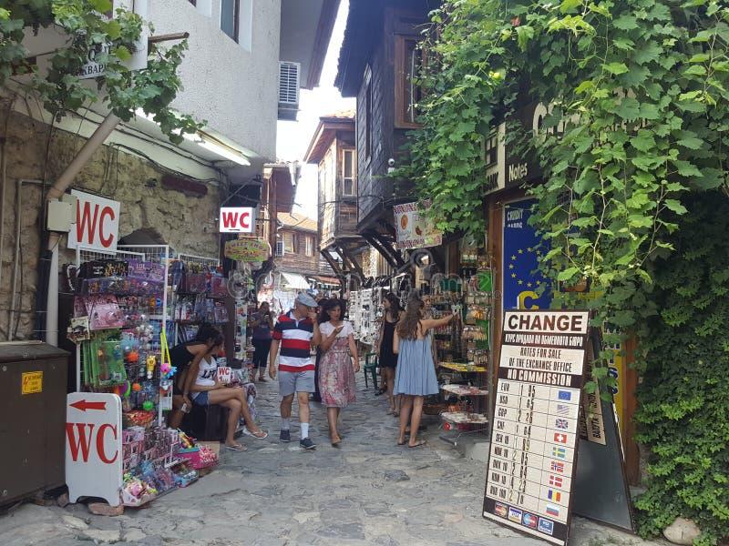 Bulgaria, Nesebar - old town. royalty free stock images